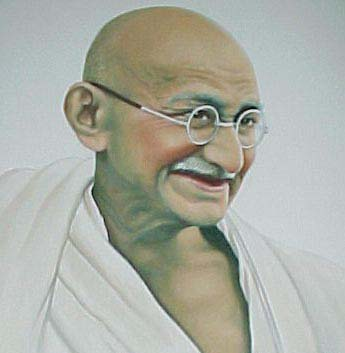 7 Positive Life Lessons from Gandhi