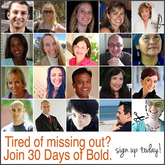 30 Days of Bold Course