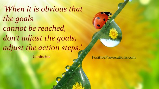 How to Take Positive Action - just one small positive step!