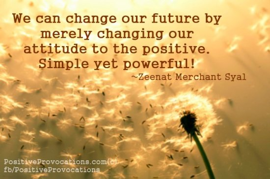 we can change our future