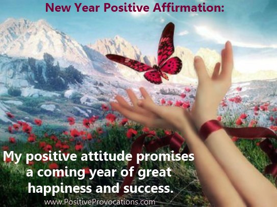 New Year Positive Affirmation