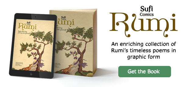 Buy sufi comics rumi