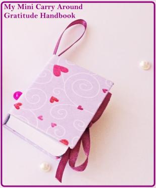My Mini Carry Around Gratitude Handbook