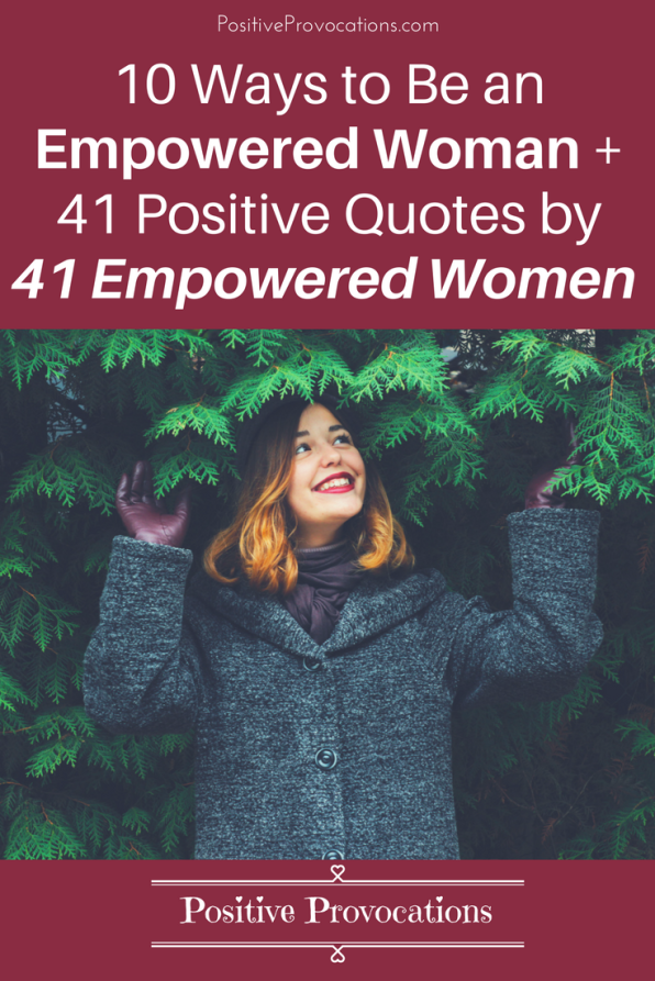 Women Empowerment Positive Provocations Enchanting Positive Quotes For Women